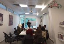 دورة تدريبية لمجموعة من المتطوعين من مختلف المحافظات
